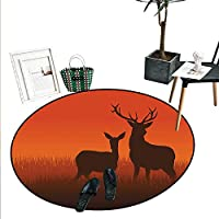 Humor Home Decor 円形エリアラグ 考え抜かれたミームドリンクコーヒー 彼の足 なぜアイコン ムーディーデイアートシーグラフィック ドアマット 屋内 バスルーム マット スモール ラウンド カーペット ブラックとホワイト D4'/1.2m