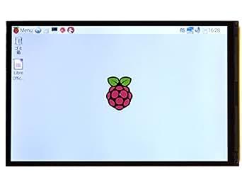 """ラズベリーパイ 7インチ ディスプレイ SHARP 7"""" 高精細 IGZO LCD for Raspberry Pi"""