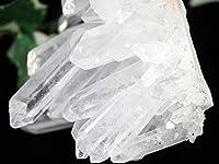 【天然石の島田商事】美しいロングポイント 中国 四川省産 FAランク 天然原石 針状水晶クラスター(石英 Cluster Crystal Quartz) 669g 1個/ac-05557