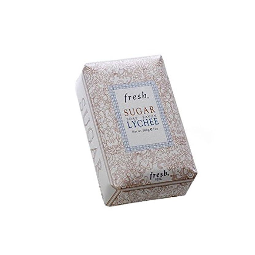 交通渋滞ピッチ建物Fresh フレッシュ シュガーライチ石鹸 Sugar Lychee Soap, 200g/7oz [海外直送品] [並行輸入品]