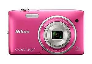 Nikon デジタルカメラ COOLPIX S3500 光学7倍ズーム 有効画素数 2005万画素 ストロベリーピンク S3500PK