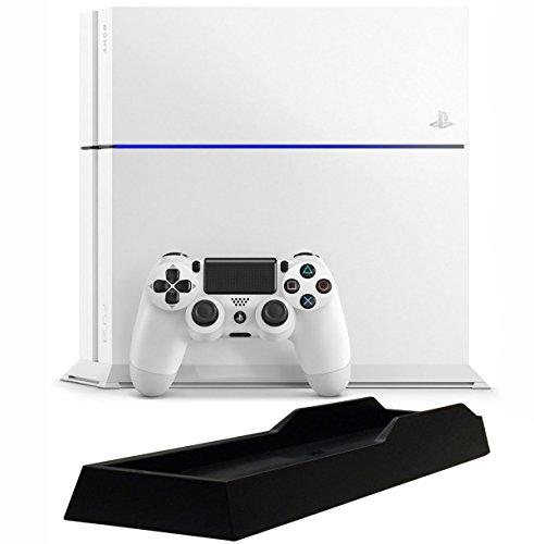 PlayStation 4 グレイシャー・ホワイト (CUH-1200AB02) 【メーカー生産終了】【Amazon.co.jp限定】特典アンサー PS4用縦置きスタンド付
