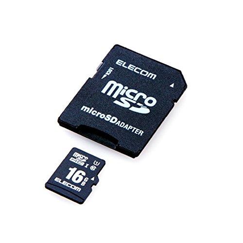 エレコム microSDHCカード 車載用 MLC UHS-I 16GBMF-CAMR016GU111枚