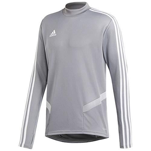 [アディダス] サッカーウェア CONDIVO19 トレーニングジャケット FJU28 [メンズ] グレー/ホワイト (DW4801) 日本 J/L (日本サイズL相当)