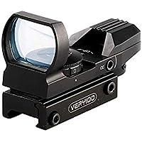 VERY100正規品 オープン式 ライフルサイトスコープドットサイト ダットサイト 照準器 20mm 対応 レッド/グリーン