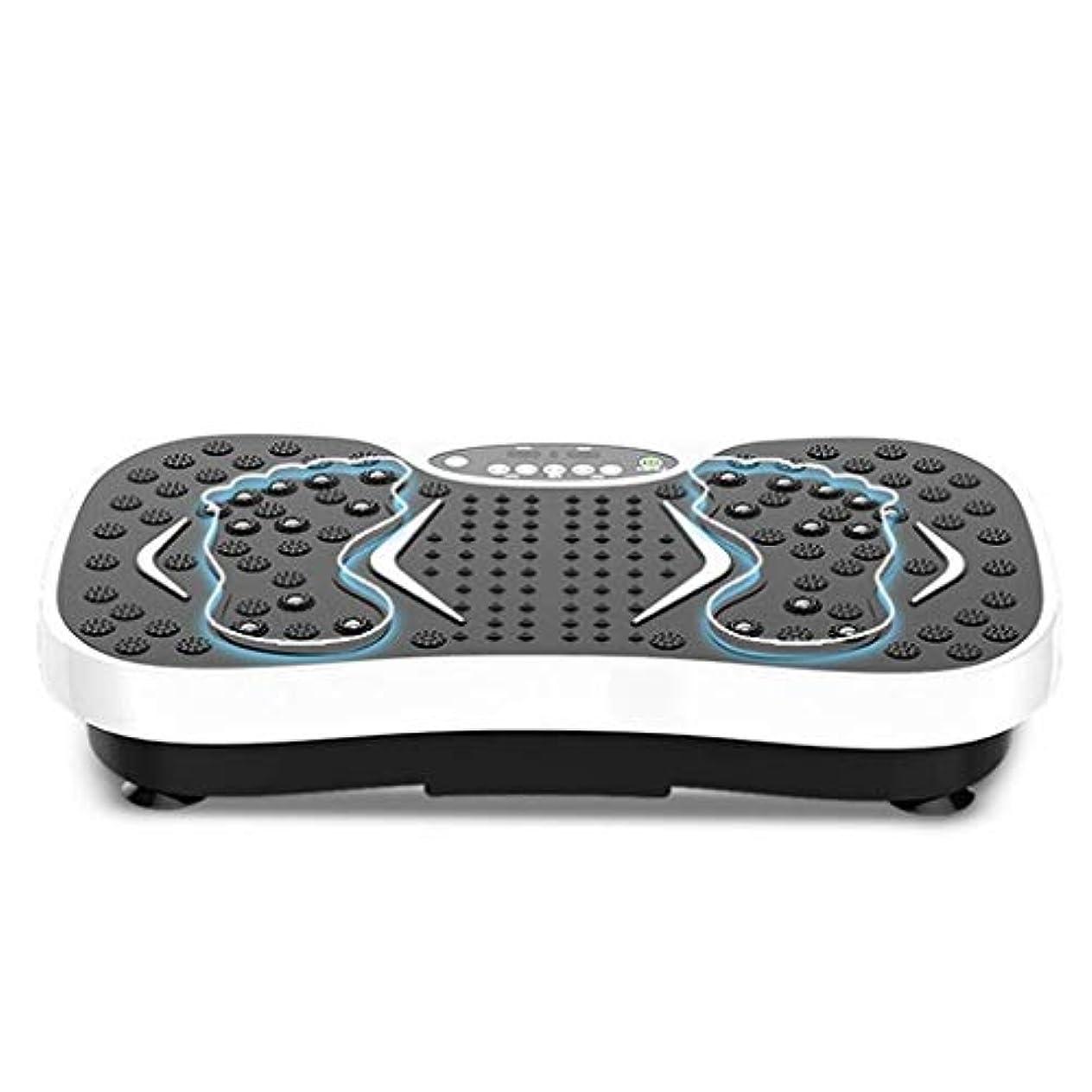 シンク合体受け入れ減量機、運動衝撃吸収フィットネスモデル減量機ユニセックス振動板、家庭/ジムに最適(最大負荷150KG) (Color : 白)