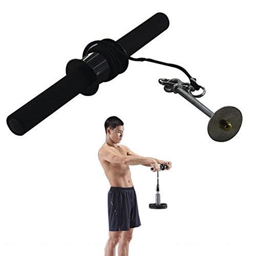 Darhoo リストローラー 手首 前腕 筋トレ 強化 筋肉 トレーニング 器具 用品