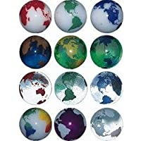 Planet on Earth Marble Set of 3