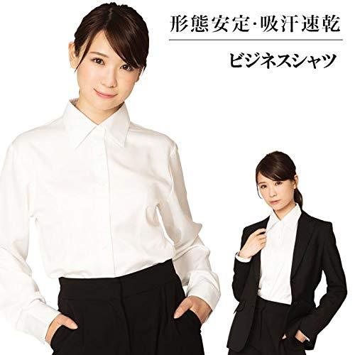 【サイズ:Sサイズ】形態安定 レディースシャツ ビジネスシャ...