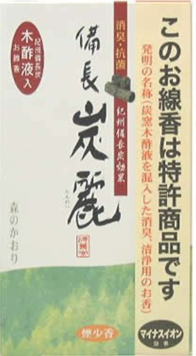 選択蒸し器評価する梅薫堂 備長炭麗 森のかおり 120g