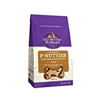 Old Mother Hubbard Classic Crunchy Natural Dog Treats, P-Nuttier Small Biscuits, 20-Ounce Bag by Old Mother Hubbard