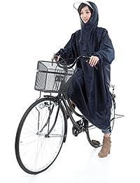 [krosta]【全7色(日本語パッケージ)】高品質 自転車/バイク レインコート(収納袋付) オックスフォード生地 袖つき レインポンチョ さっと着れる?さっと脱げる?男女兼用 フリーサイズ 防水 防汚 防油加工