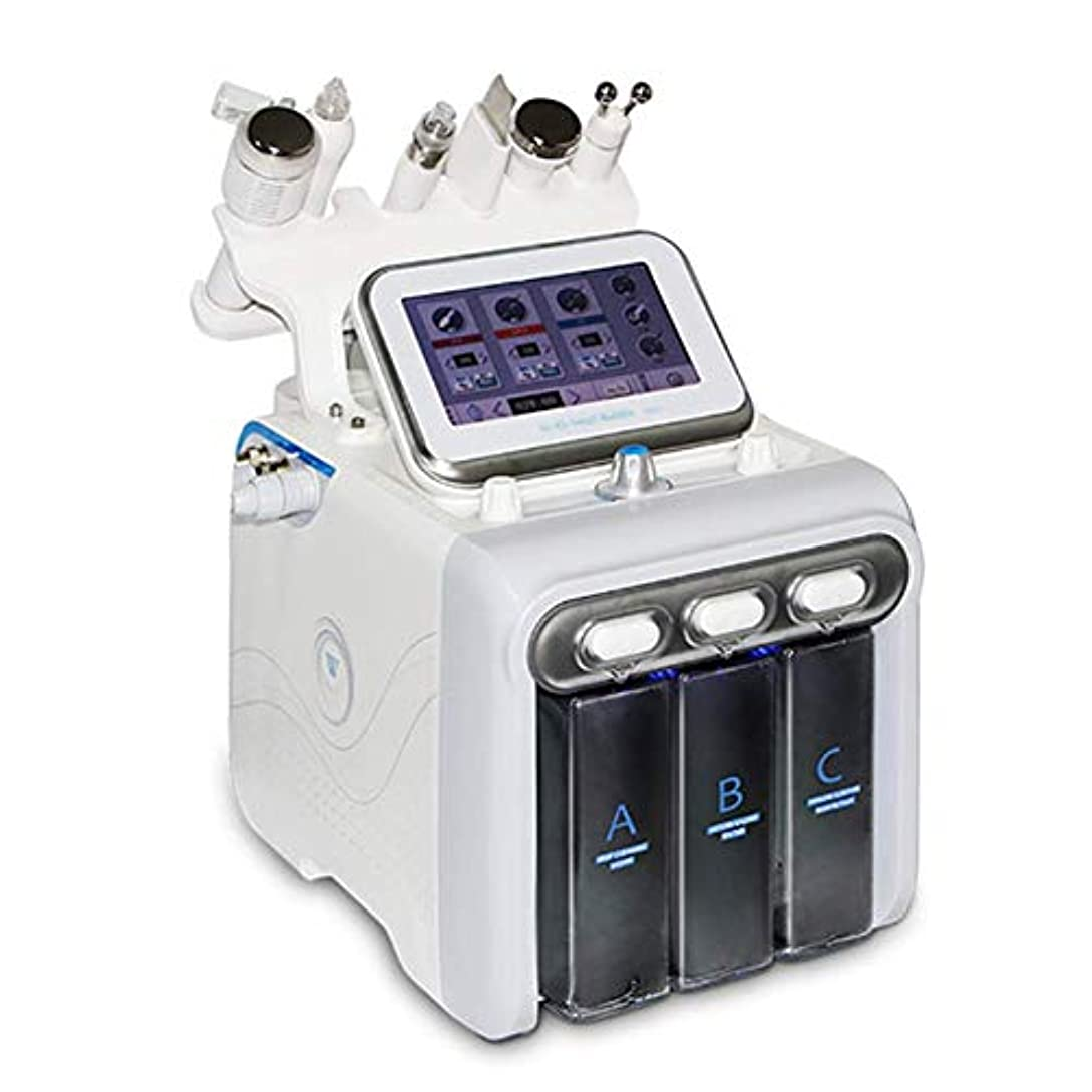 ピットカブカートン1水素・酸素小バブルスパマシン多機能スキンクリーナー、顔用ハイドロ皮膚剥離水の真空ビューティー・フェイシャルクリーニング装置6