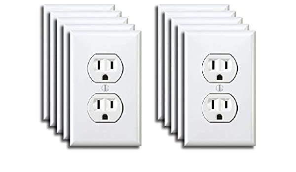 Power Outlet Stickers electrical sticker 50 pack Prank Fake Joke Funny