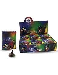 グリーンツリーレイキエネルギー自然Masala Incense Cones 12ボックスof 10
