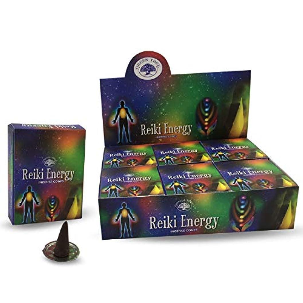 主導権アナログモールス信号グリーンツリーレイキエネルギー自然Masala Incense Cones 12ボックスof 10