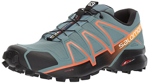 [サロモン] トレイルランニングシューズ SPEEDCROSS 4 TRAIL RUNNING L39841900 North Atlantic/Black/Scarlet Ibis 26 cm