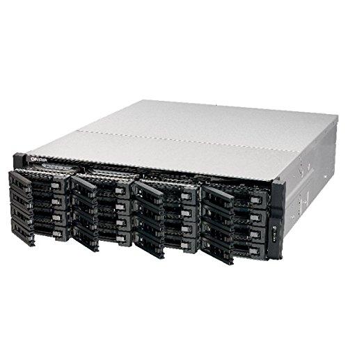 QNAP TS-EC1679U-SAS-RP-US 16-Bay NAS 3U SAS/SATA 6G 4LAN 10G-ready Redundant PSU (TS-EC1679U-SAS-RP-US) [並行輸入品]