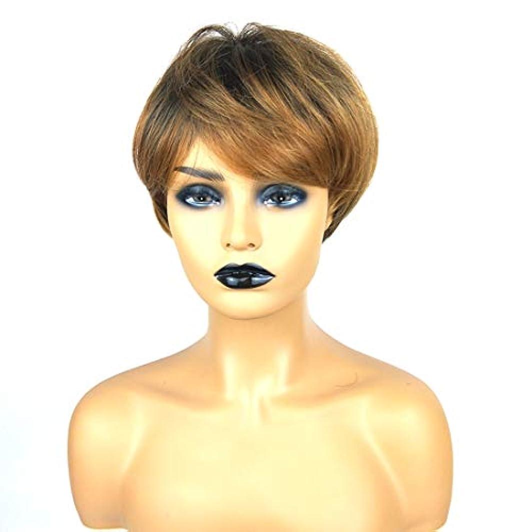 モール文庫本分配しますKerwinner ショートボブの髪の毛のかつら本物の髪として自然な女性のための合成かつらとストレートウィッグ