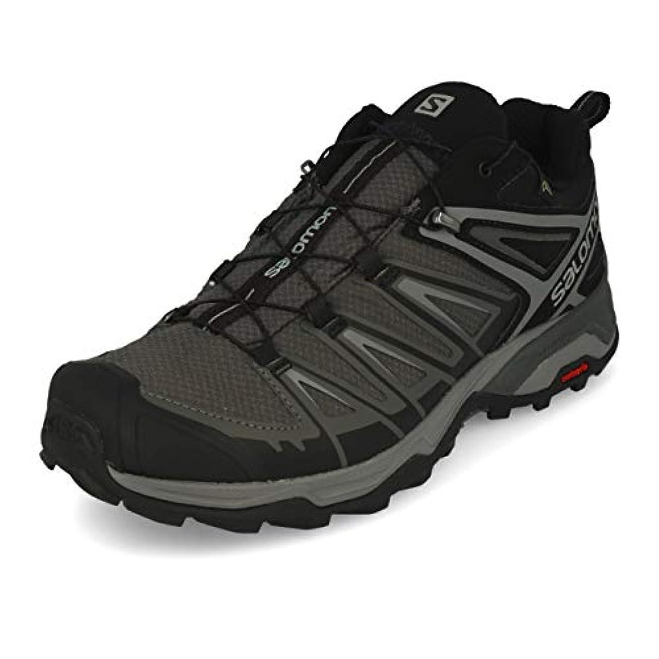 保証まばたき触手[サロモン] メンズ 男性用 シューズ 靴 スニーカー 運動靴 X Ultra 3 GTX(R) - Black/Magnet/Quiet Shade [並行輸入品]
