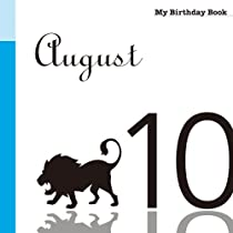 8月10日 My Birthday Book