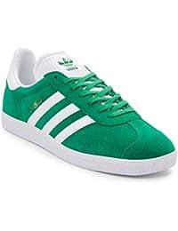 (アディダス) adidas 靴・シューズ メンズスニーカー Mens adidas Gazelle Athletic Shoe Green/White グリーン/ホワイト US 8.5 (26.5cm)