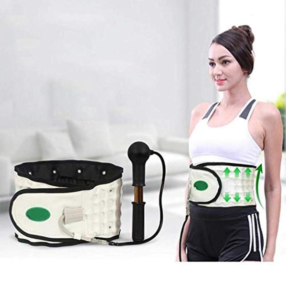 助けになる心配怠感ウエストマッサージャー、電動マッサージベルト、腰椎装具、整形外科矯正ネックおよびサポート肩背骨マッサージ牽引用