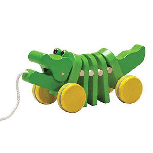 木のおもちゃ ダンシングアリゲーター