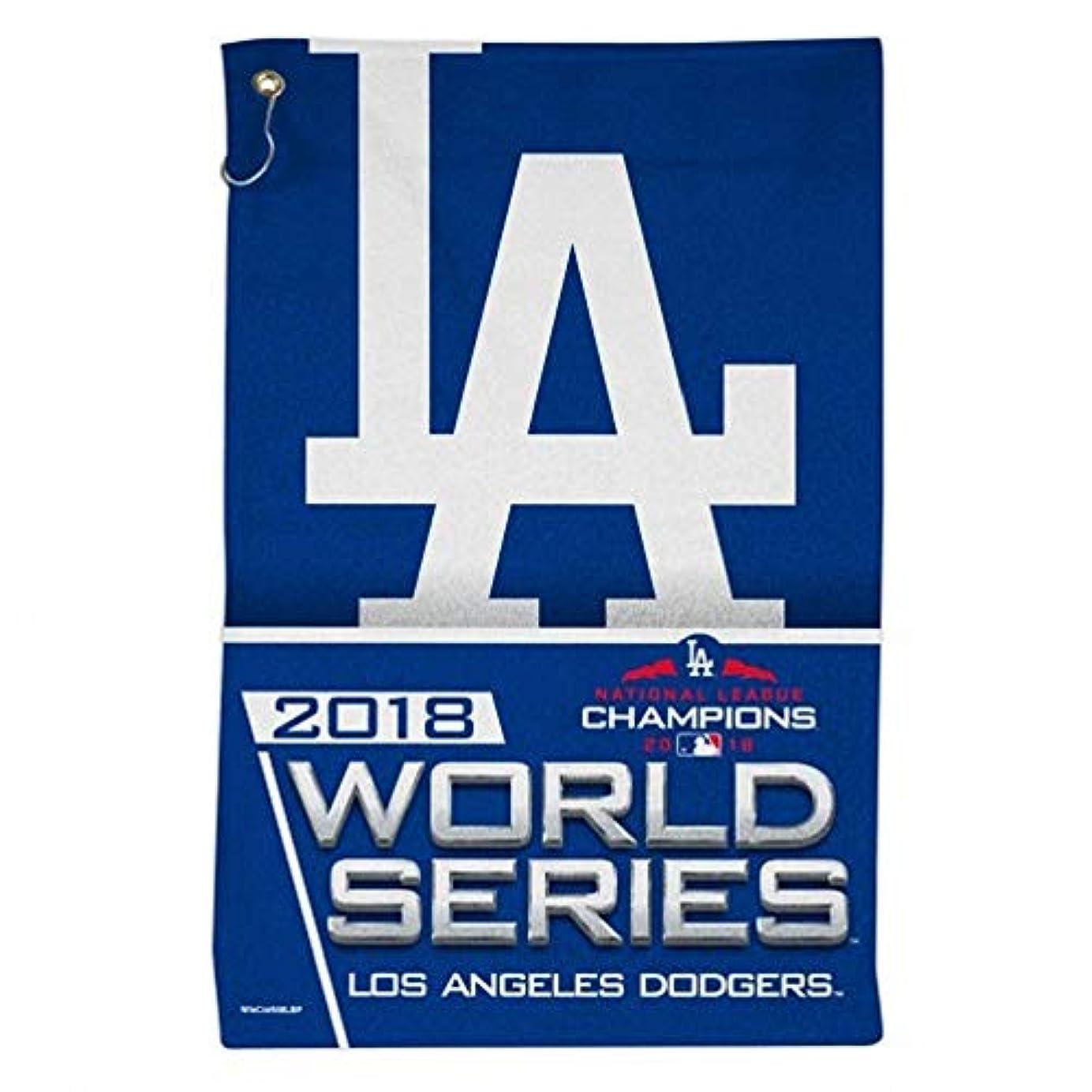 罹患率実行可能悪いWinCraft ロサンゼルス?ドジャース 2018 ワールドシリーズ 16 X 25 スポーツタオル