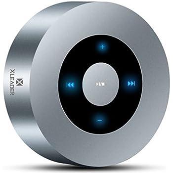 【防水ケース付属 進化版】XLEADER SoundAngel 5W タッチ Bluetooth スピーカー キッチンバスルーム旅行用