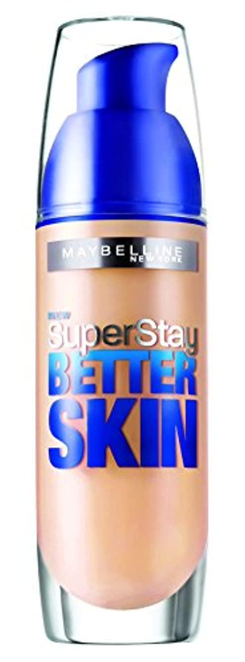 ためらう時々雑種Maybelline SuperStay Better Skin Foundation make-up SPF 20 (032 Golden) 30 ml (woman)