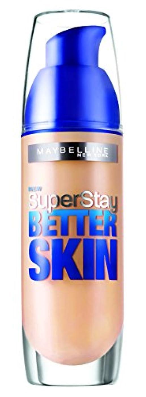 種唯一実施するMaybelline SuperStay Better Skin Foundation make-up SPF 20 (032 Golden) 30 ml (woman)