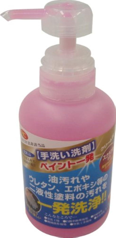 曲がった端末手数料鈴木油脂 手洗い洗剤 ペイント一発 350g