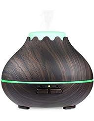 精油、150ml超音波噴霧器のオフィスの世帯の空気清浄器の大きい木製の穀物のアロマセラピーの加湿器のための拡散器