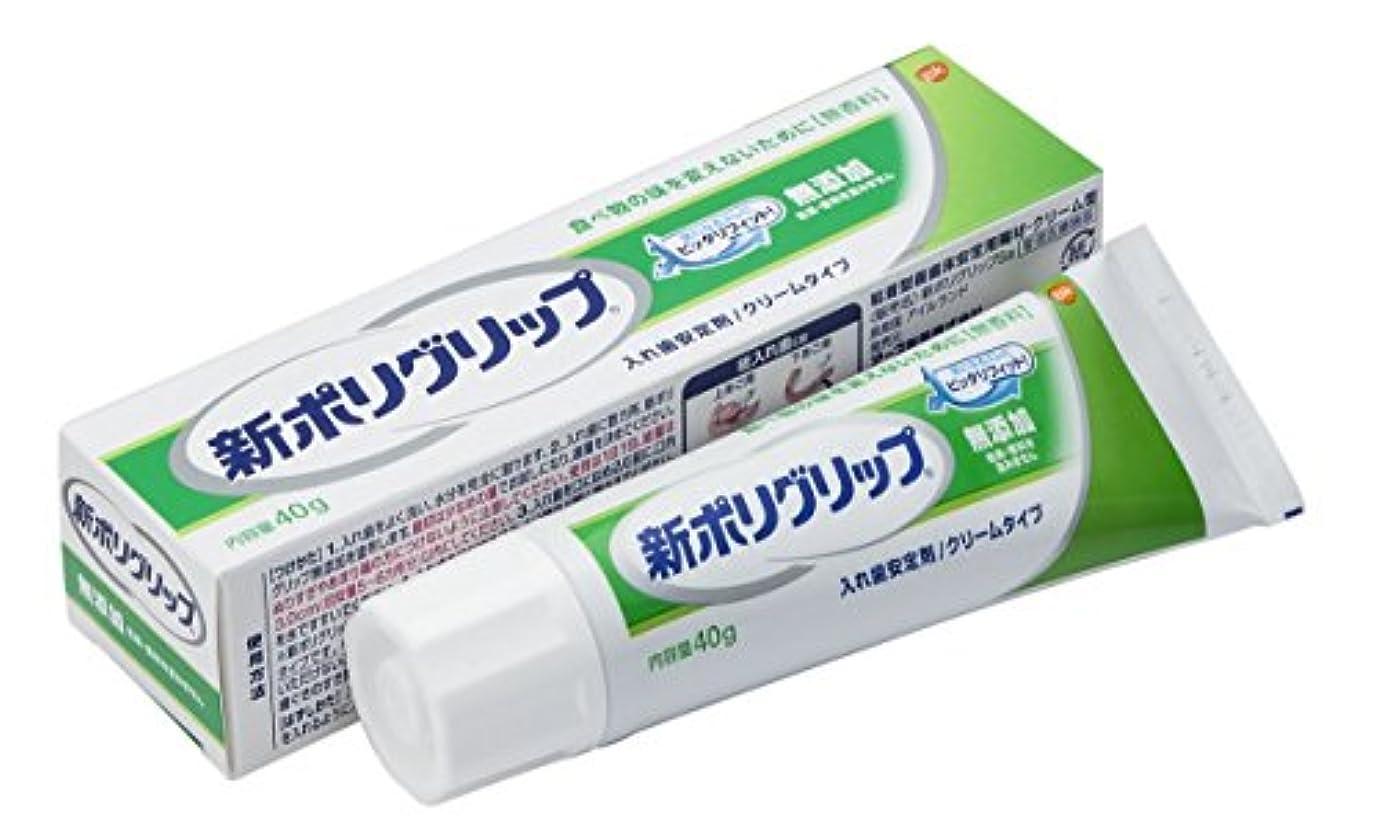 古風なカテゴリー水を飲む部分?総入れ歯安定剤 新ポリグリップ 無添加(色素?香料を含みません) 40g