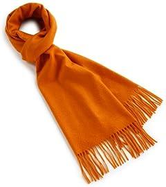 Cashmere Scarf 1336-343-2728: Orange