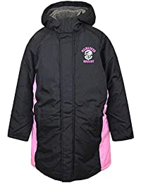 ベンチコート 子供 キッズ ジュニア 男の子 女の子 裏ボア 中綿 ジャンパー ロングコート ジャケット 全2色 pz-tmr05