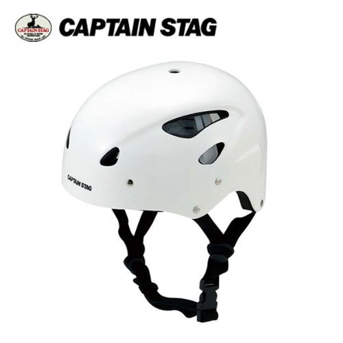 キャプテンスタッグ(CAPTAIN STAG) スポーツ ヘルメット CS ホワイトMC-3547
