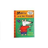 ゆうパケット配送 メイシー ぬりえ Lucy Cousins 11442【Maisy インポート 輸入 カラーリングブック 雑貨】【即日・翌日発送】