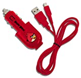 Angry Birds USB Car Charger (Nintendo 3DS/DSi/DSi XL)