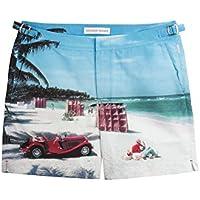(オールバー ブラウン) Orlebar Brown メンズ 水着・ビーチウェア 海パン Bulldog Hulton Slim Swim Shorts [並行輸入品]