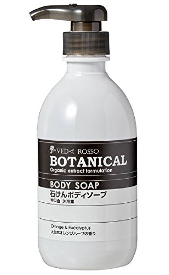 階定義レインコートヴェーダロッソ ボタニカル石鹸ボディソープ 500ml x 2本セット