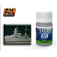 AK InteractiveグレーWash for Kriegsmarine Ships AK 303