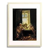 Danhauser, Joseph,1805-1845 「Siesta (Die Schlafenden). 1831」 額装アート作品