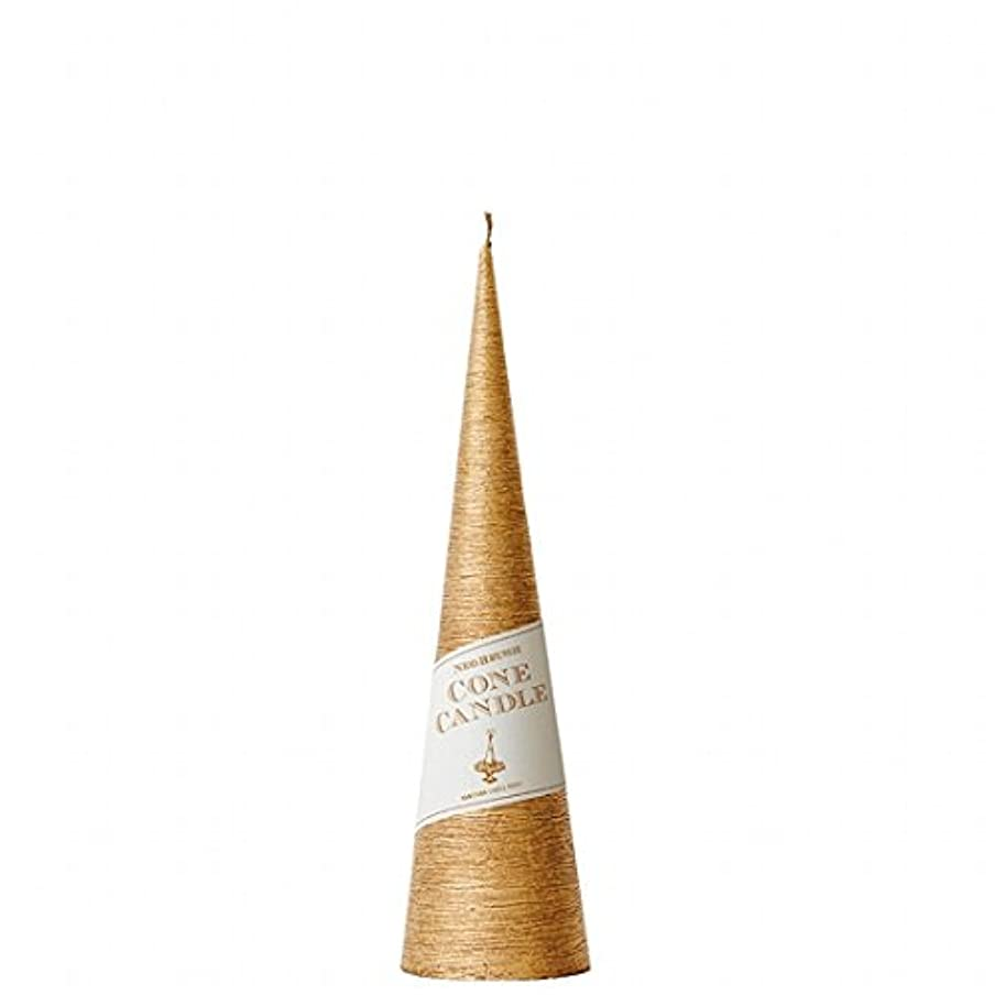 オークション売り手達成するカメヤマキャンドル(kameyama candle) ネオブラッシュコーン 230 キャンドル 「 ゴールド 」 6個セット