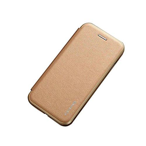 iPhone 8 ケース 手帳型 横開き 二つ折り PUレザ...