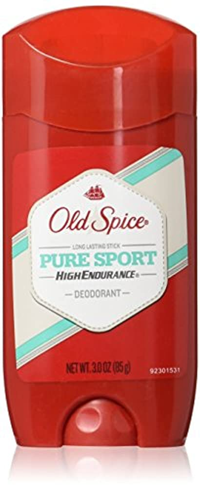 事業内容思慮のない捧げるOld Spice デオドラント ハイエンデュランス ピュアスポーツ 3oz(88Ml)(2パック)海外直送