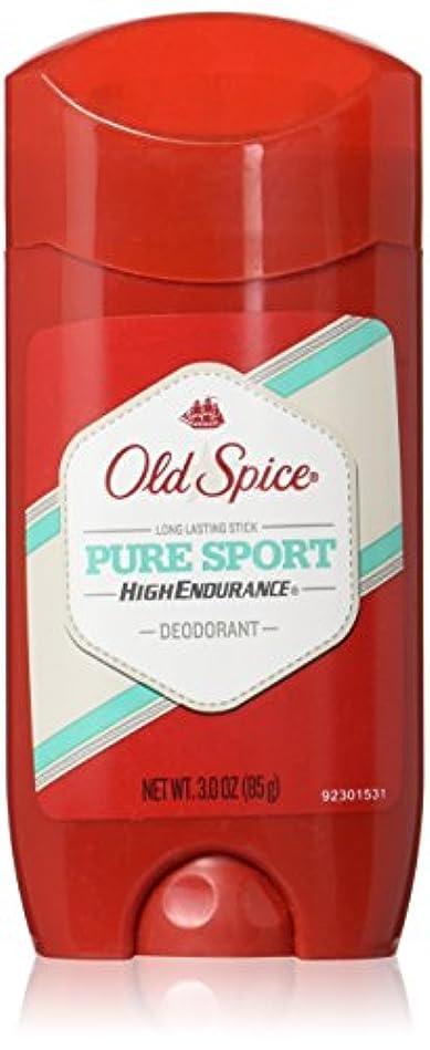 震える粘り強い設置Old Spice デオドラント3オンスピュアスポーツバリュー二アットワンス(88Ml)(2パック)
