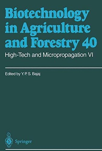 High-Tech and Micropropagation VI: v. 6 (Biotechnology in Agriculture and Forestry)