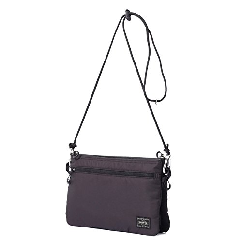(ヘッド・ポーター) HEAD PORTER | LUMIERE | 3WAY SHOULDER BAG (BLACK)